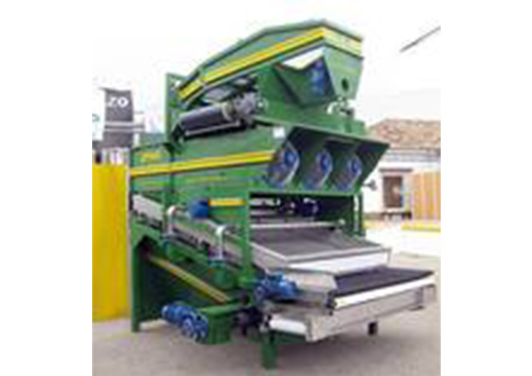 Waschanlage Oliven Vibrationsförderer