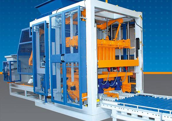 Vibrationsmotor im Bauwesen: Vibrationspresse