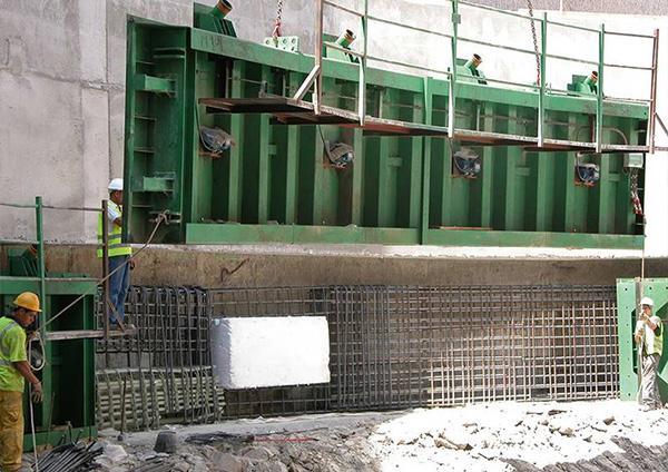 Vibrationsmotor im bauwesen: Fertigteilherstellung öffentliche Bauwerke