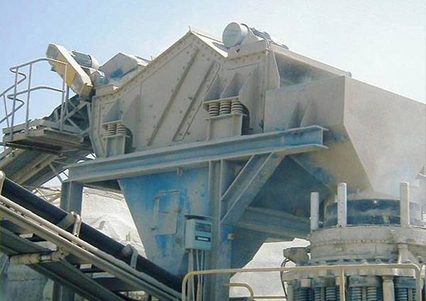Rüttelsieb im Bergbau