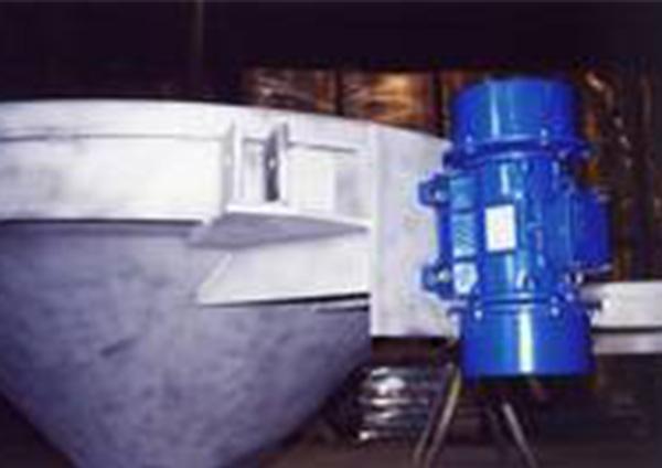 Vibrationsmotor Austragsvorrichtung